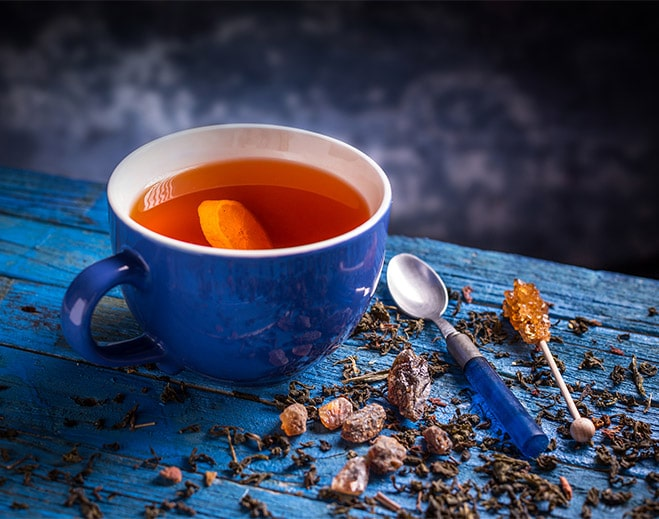 hot cup of tea
